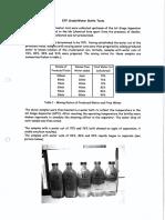 Separation Bottle Tests