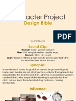 Character Project - Design Bible