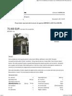 Vila Individuala - 75.000 Euro - X8RR01004-1