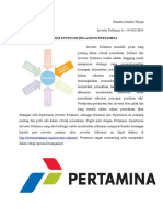 Analisis Investor Relations Pertamina