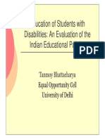 Education of Students with Disabilities