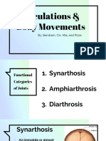 articulations body movements