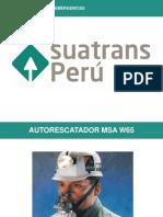 Prest. Auorescatador MSA W65