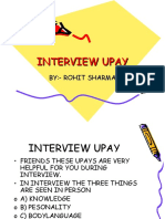 Interview Upay