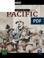 OrderOfBattle Pacific Spanish Manual eBook