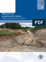 FAO Manual on Small Earth Dams