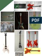 gitar transparan