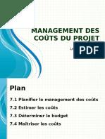 [4] Management Des Coûts Du Projet