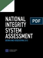 National Integrity System Assessment BiH 2013 En