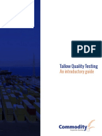 CIS Whitepaper Tallow Quality Testing