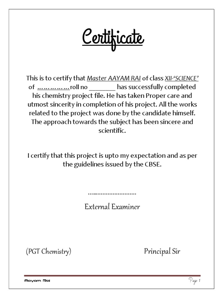 Certificate format for project file gallery certificate design certificate format for school project file images certificate certificate format for school project file image collections yelopaper Image collections