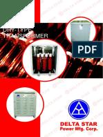 DSPMC Brochure for Dry Type Transformer