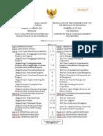 Regulation 13/2016 Indonesia Corporate Crime Case Management Procedures (Translated by Wishnu Basuki)