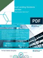 Cloud Lending Solutions Overview - Lending Innovation Starts Here™
