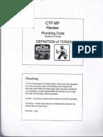 Ctp Mp Plumbing Code