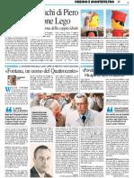 """""""Fontana, Uomo del Quattrocento"""" - Il Resto del Carlino dell'8 gennaio 2017"""