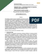Journal - Hartini Ab Ghani & Salman Lambak, Universiti Sultan Zainal Abinin, Mly, 2015