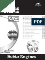 Robin Ey15-3d_ey20-3d Operations Manual