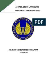 Laporan Studi Lapangan 5i - Kelompok 6 - Kpp Pratama Jakarta Menteng Satu