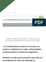 La Contaminación Acústica