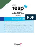 CADERNO_UNESP2017_PRIMEIRAFASE