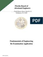 Fe Re Exam App 093013