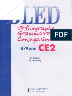 6 Frenchfree Hachette Bled Orthographe Grammaire Conjugaison