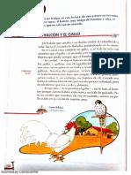 El Halcón y El Gallo. Lecturas Primaria