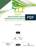 Oie2015 Program Potpuni