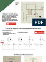 Plano Electronico Probador de Inyectores 555