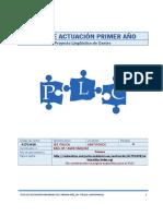 Plan de Actuación PLC Primer Año 16 -17