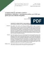 'UNIDOS POR EL SENTIDO COMÚN'. Identidad(es) cultural(es) y participación política en el 15M; preguntas para una reflexión etnográfica.pdf