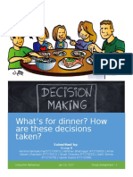 Family Dinner Decisions