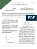Review on Concept Drift Detection Techniques