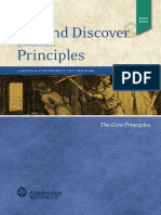 Dig and Discover Principles Booklet - On-screen - A4