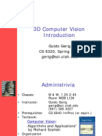 3 d Computer Vision