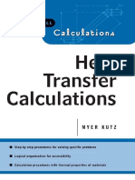 Heat Transfer Calculations - Myer Kutz (McGraw-Hill, 2004)