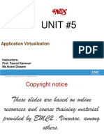 Unit 5 Application Virtualization (1)