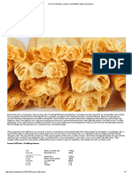 Inverse Puff Pastry _ Pastry Chef &Author Eddy Van Damme