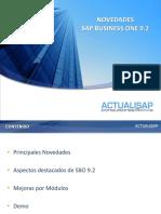 Webinar - Mejoras SAP 9.2