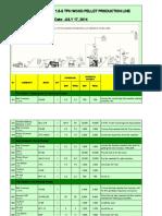 1.5-2wood Pellet Production Line