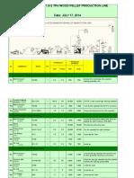 1-1.5wood Pellet Production Line
