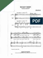 Rockin Robin choir version