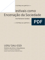 Os Festivais Como Encenação Da Sociedade