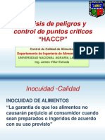 Análisis de Peligros y Control de Puntos Críticos