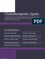Chemotherapeutic Agents
