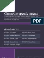 Chemotherapeutic Agents
