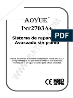 Aoyue Int2703A+ Spanish
