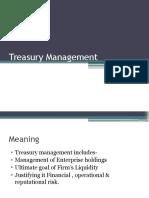 Treasury Management - Objectives