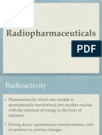 Radio Pharmaceuticals